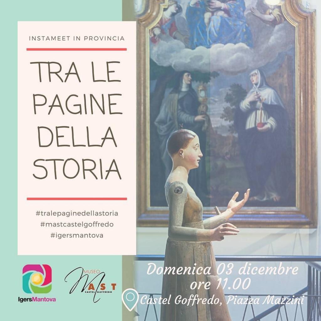 Instameet a Castel Goffredo Una visita dedicata al nuovo Museohellip