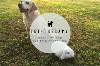 Pet-Therapy: Cocco e Marlene coccole a modo