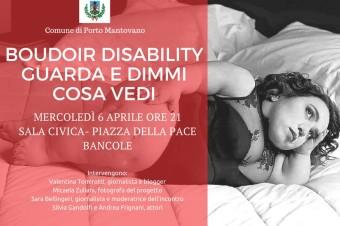 La consapevolezza che regala Boudoir disability