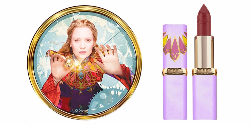 Review l 39 oreal rossetti alice attraverso lo specchio pepitosa blog - Alice e lo specchio ...