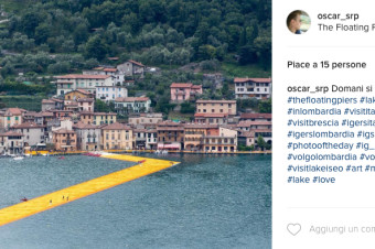 The Floating Piers: siamo tutti come Christo