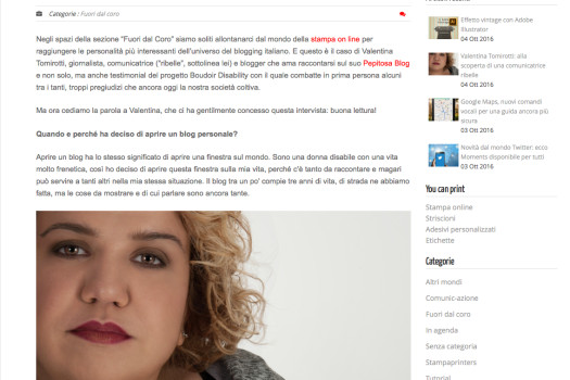 Valentina Tomirotti: alla scoperta di una comunicatrice ribelle